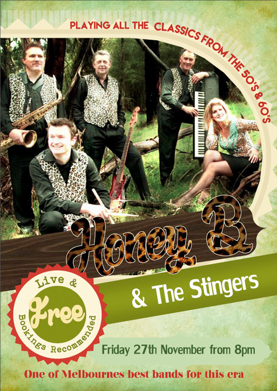 Honey B & The Stingers