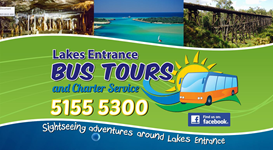 lakes Entrance Bus Tours