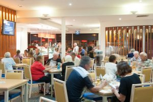 Lakes Entrance Bowls Club bistro dining