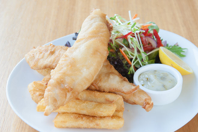 Lakes Entrance Bowls Meals Fish & Chips