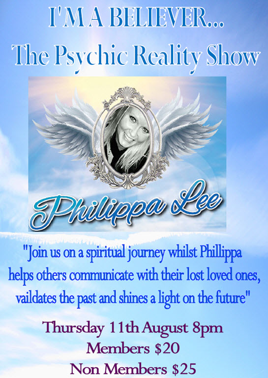 Philippa Lee Psychic Medium at Lakes Entrance