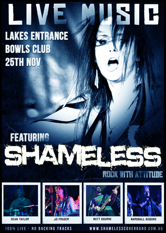 shameless rock with attitude lakes entrance bowls