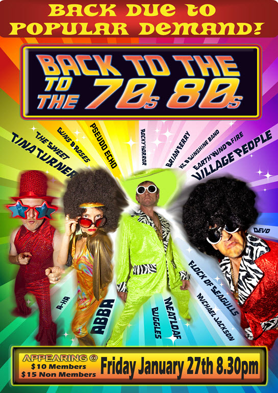 70s & 80s Show at Lakes Entrance