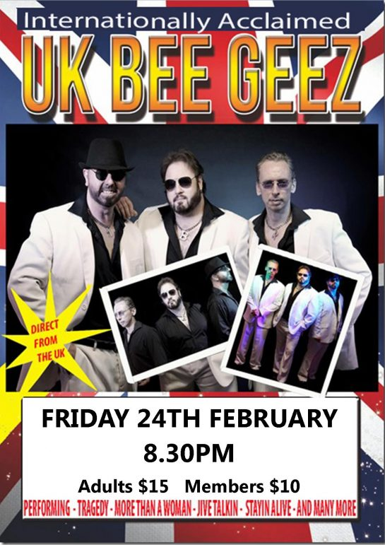 bee geez show lakes entrance bowls