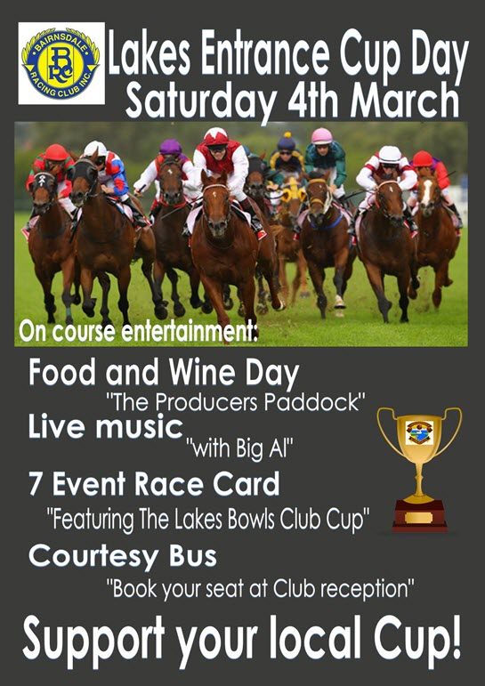 Lakes Entrance Cup Day 2017