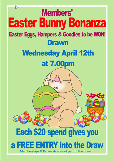 Lakes Entrance Bowls Easter Bonanza